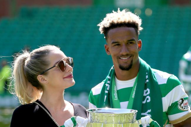 Helen Flanagan and Scott Sinclair, who played for the Hoops between 2016 and 2020