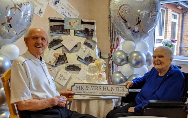 Mr and Mrs Hunter. Image: Renaissance Care