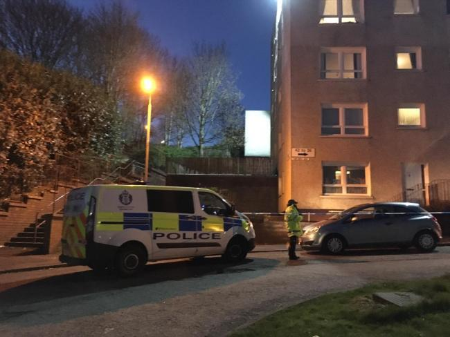Police investigation sudden death in Glasgow's Maryhill
