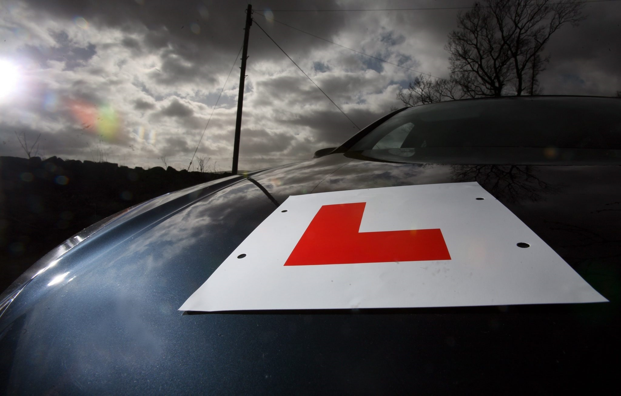 Driving tests are in the news