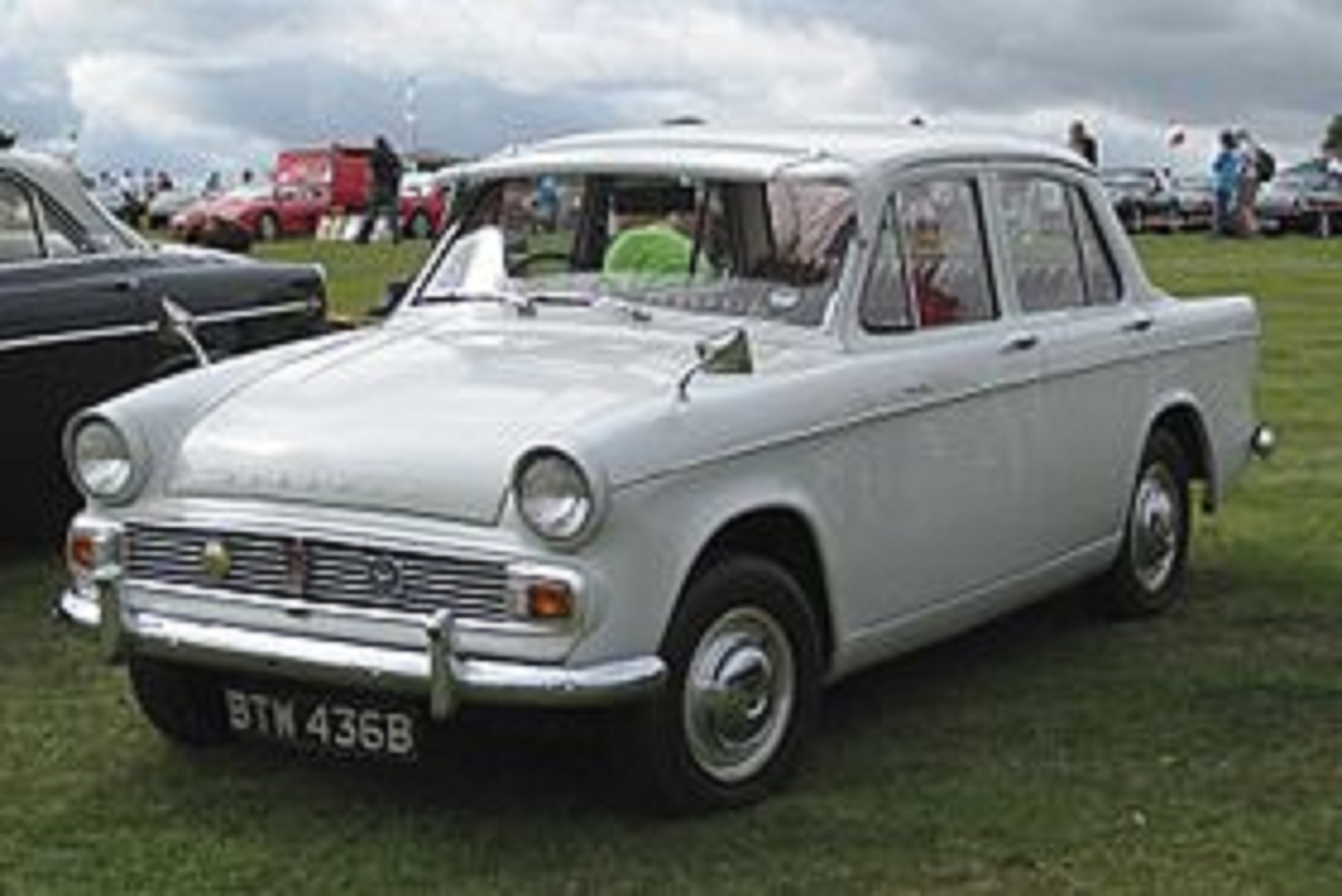 A Hillman Minx, like the one Dan used to drive.