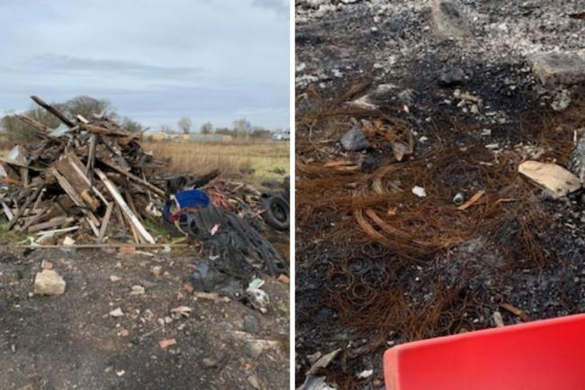 Cops to ramp up patrols after spate of flytipping in Lanarkshire town