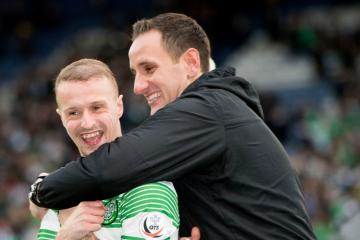 John Kennedy provides Leigh Griffiths update as Celtic striker wanted by Aberdeen and Hibs