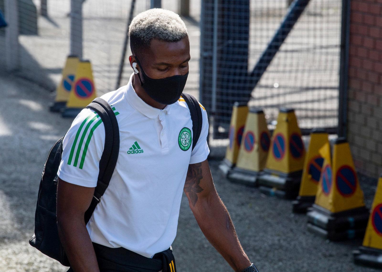 Boli Bolingoli in 'Let's go' message as Celtic teammates Edouard and Dembele respond