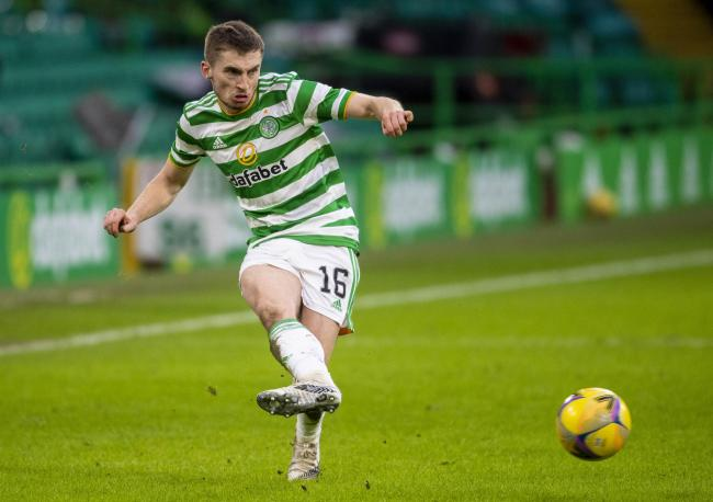 Jonjoe Kenny in action for Celtic.