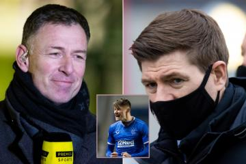 Chris Sutton slaughters 'ridiculous' Steven Gerrard stance on Patterson and Rangers ban