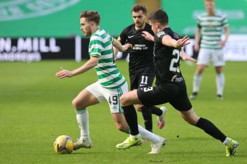 Celtic 6-0 Livingston: James Forrest injury only negative for John Kennedy after emphatic six goal rout