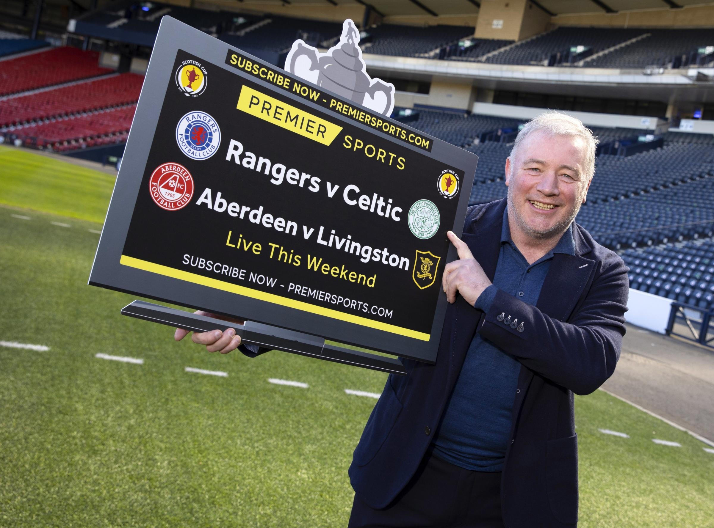 Rangers legend Ally McCoist makes Scottish Cup final fans plea after Hampden decision