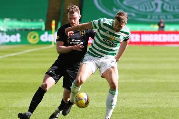 Frank McAvennie blasts Kristoffer Ajer as he says he'd love to face soft Celtic defence