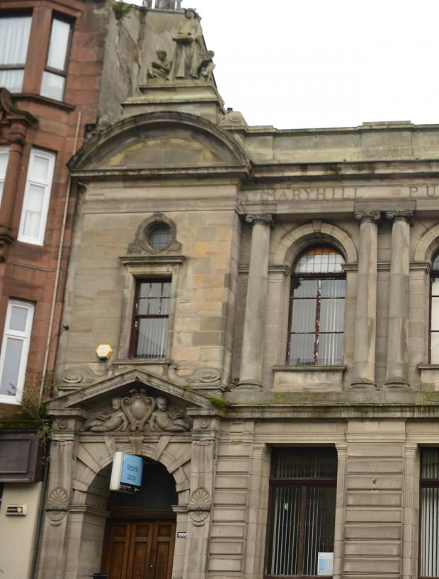 Glasgow Times: Maryhill Library
