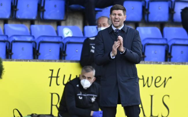 Steven Gerrard addresses positives and negatives after lacklustre Rangers draw