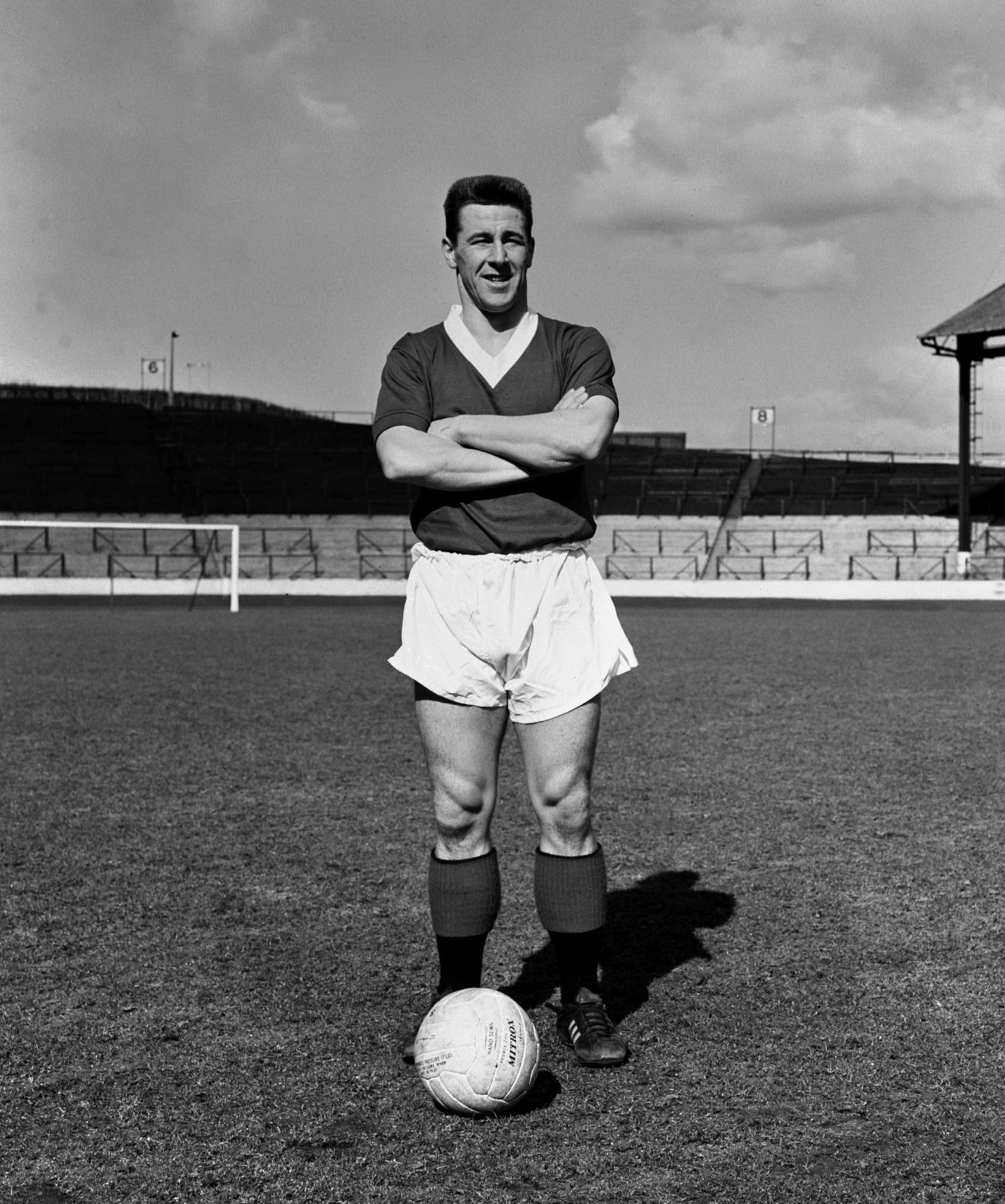 Jimmy Millar of Rangers in the 60s. Pic: Herald and Times