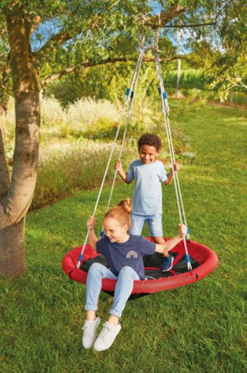 Glasgow Times: Playtive Nest Swing. (Lidl)