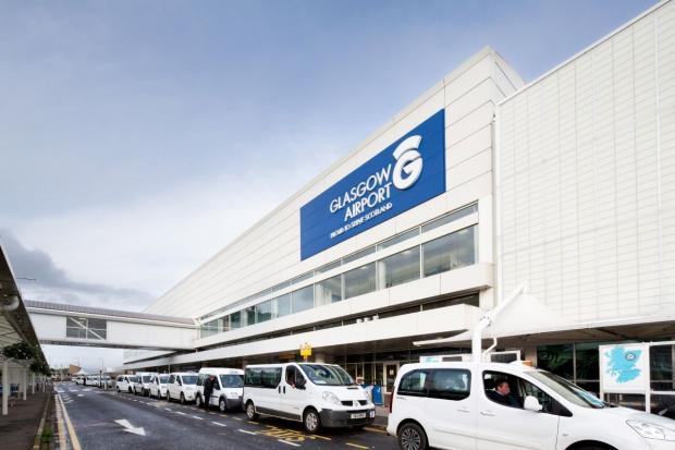 Glasgow Times: Glasgow Airport.