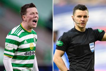 The Verdict: Was Celtic ace Callum McGregor correctly sent off against Rangers by referee Nick Walsh?