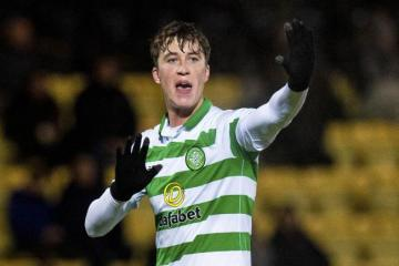 Watch: Celtic's Jack Hendry in fitness sweat after horrific challenge in Oostende win over Standard Liege