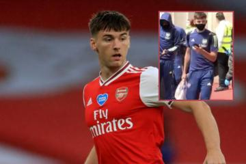 Kieran Tierney jokes his pals reckon he's changed since Arsenal move after Tesco bag moment