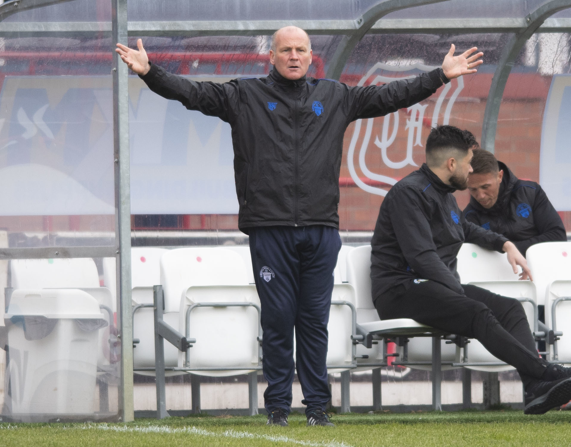Montrose pile the misery on hapless Morton in Championship play-off first leg