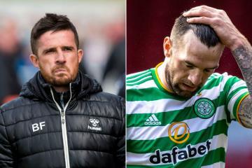 Barry Ferguson makes Shane Duffy claim as defender's horror Celtic season finally ends