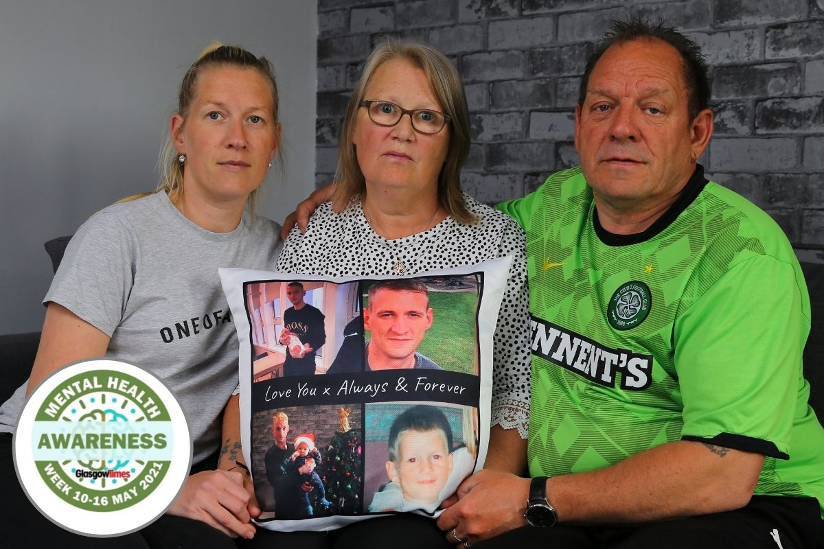 'Our world fell apart': Family speaks out about Pollok dad's suicide as we put the spotlight on mental health