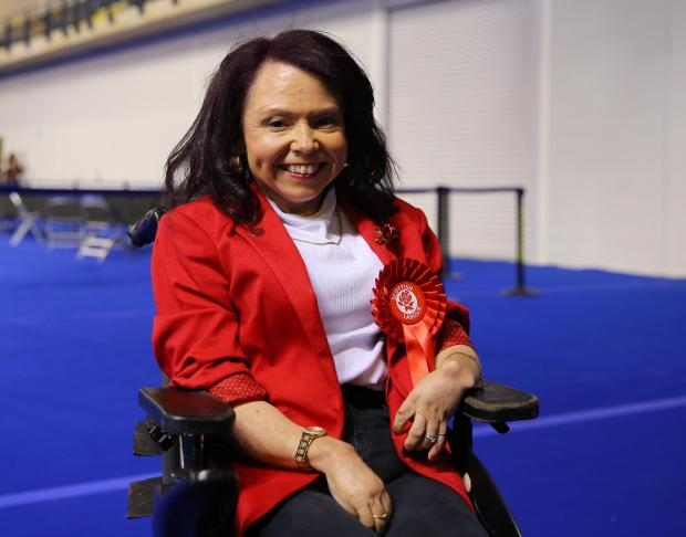 Glasgow Times: Counting of Scottish Parliamentary elections in Glasgow, UAE.  Labor's Palm Duncan-Glancy becomes Labor MSP on Glasgow's list Photo by Colin Marines May 7, 2021
