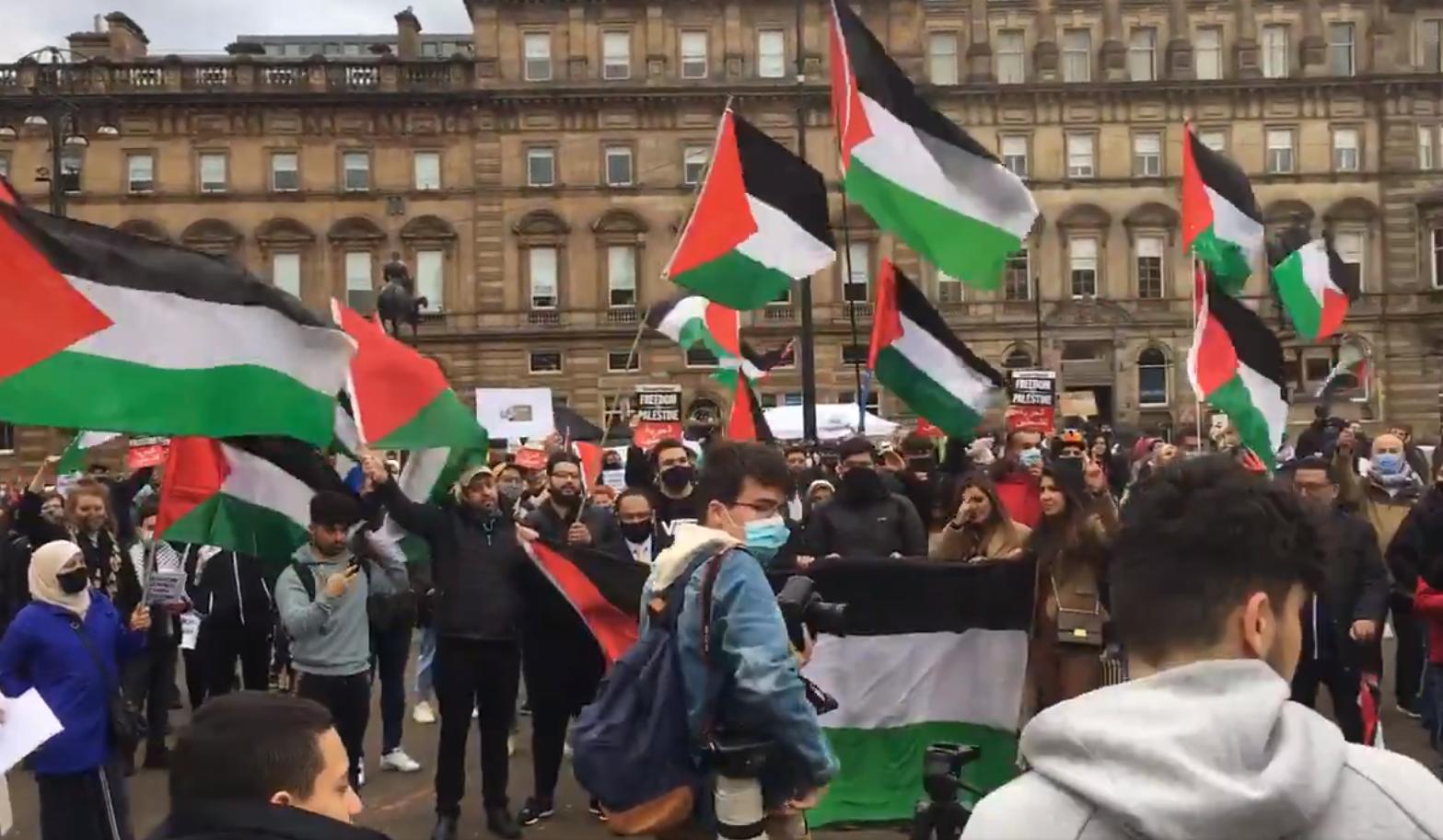 Glasgow shows solidarity to Palestine in save Sheikh Jarrah movement