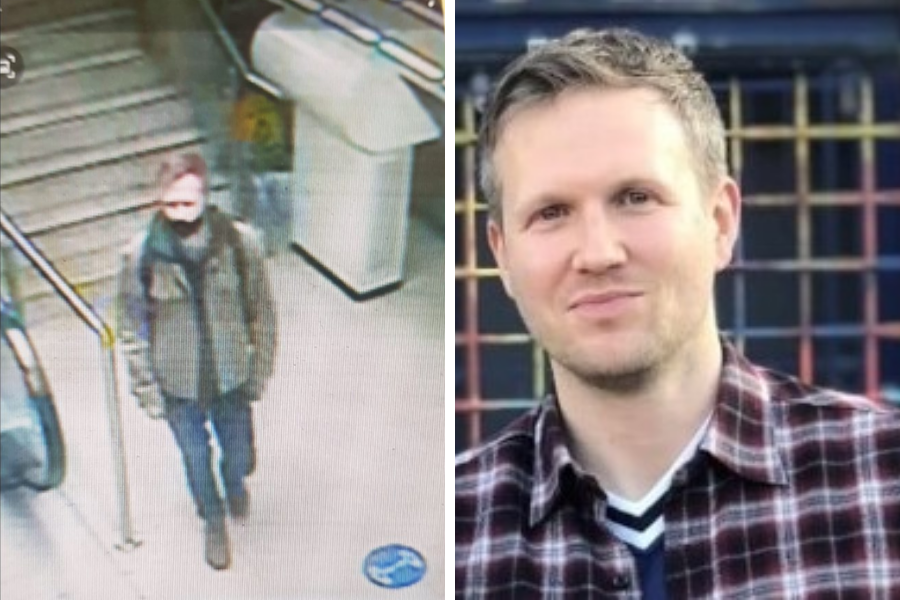 Brian Hamill: CCTV image of missing Glasgow man released as concern grows