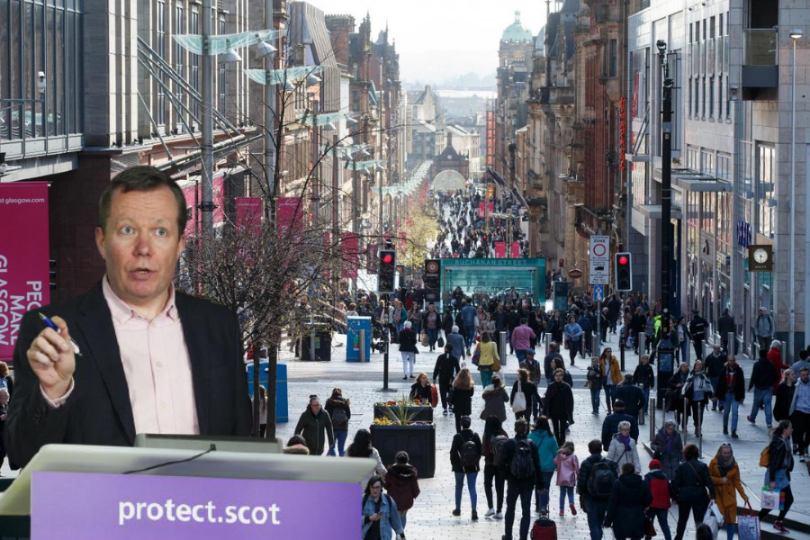 'Glasgow is at a fragile moment': Jason Leitch discusses Level 2 lockdown after spike in Covid cases