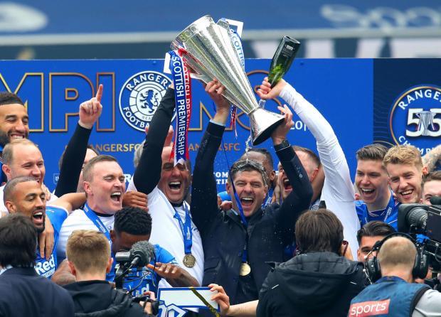 Glasgow Times: Rangers manager Steven Gerrard