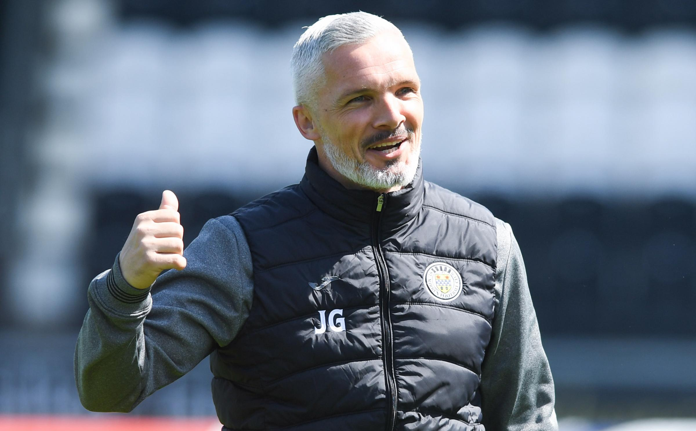 St Mirren 2-0 Partick Thistle: Jim Goodwin relieved to avoid Celtic and Rangers in Premier Sports Cup