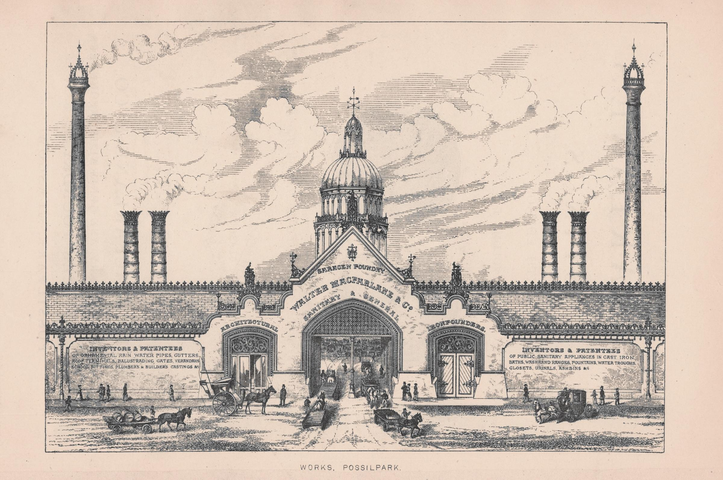 From fountains to urinals - the famous Glasgow foundry that went global