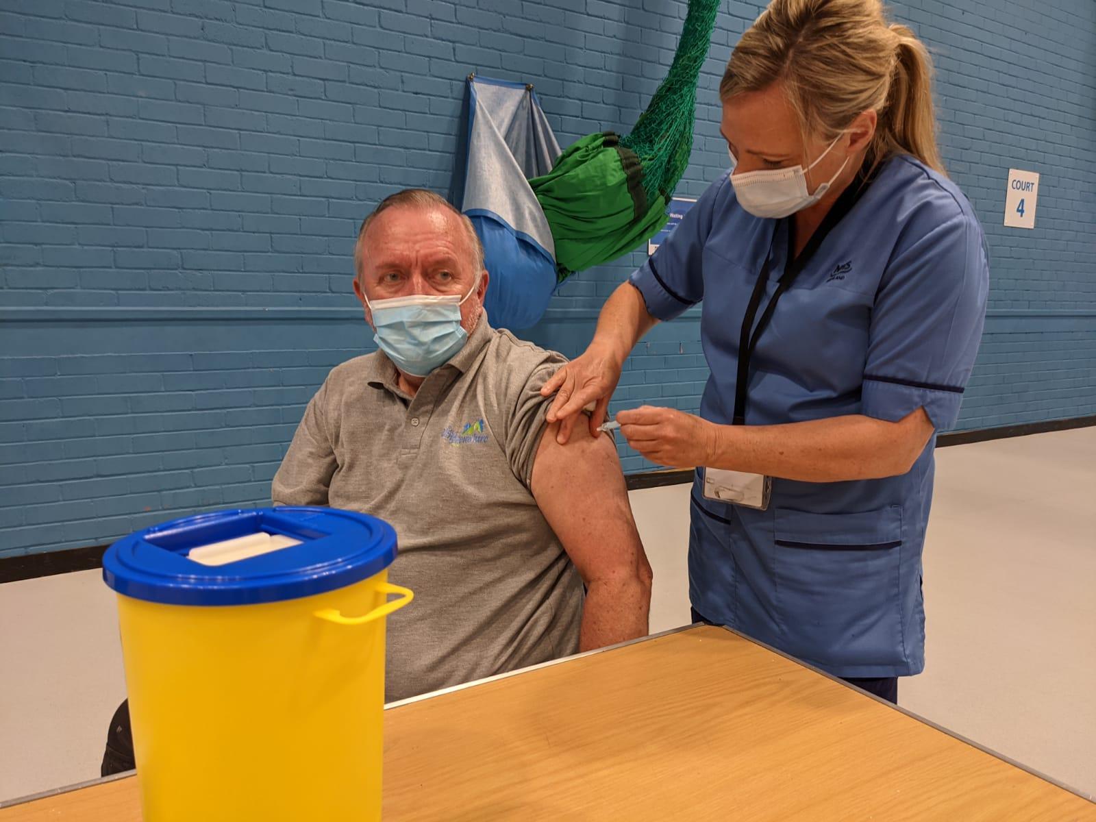 Covid Scotland: Glasgow health board marks milestone in vaccine rollout