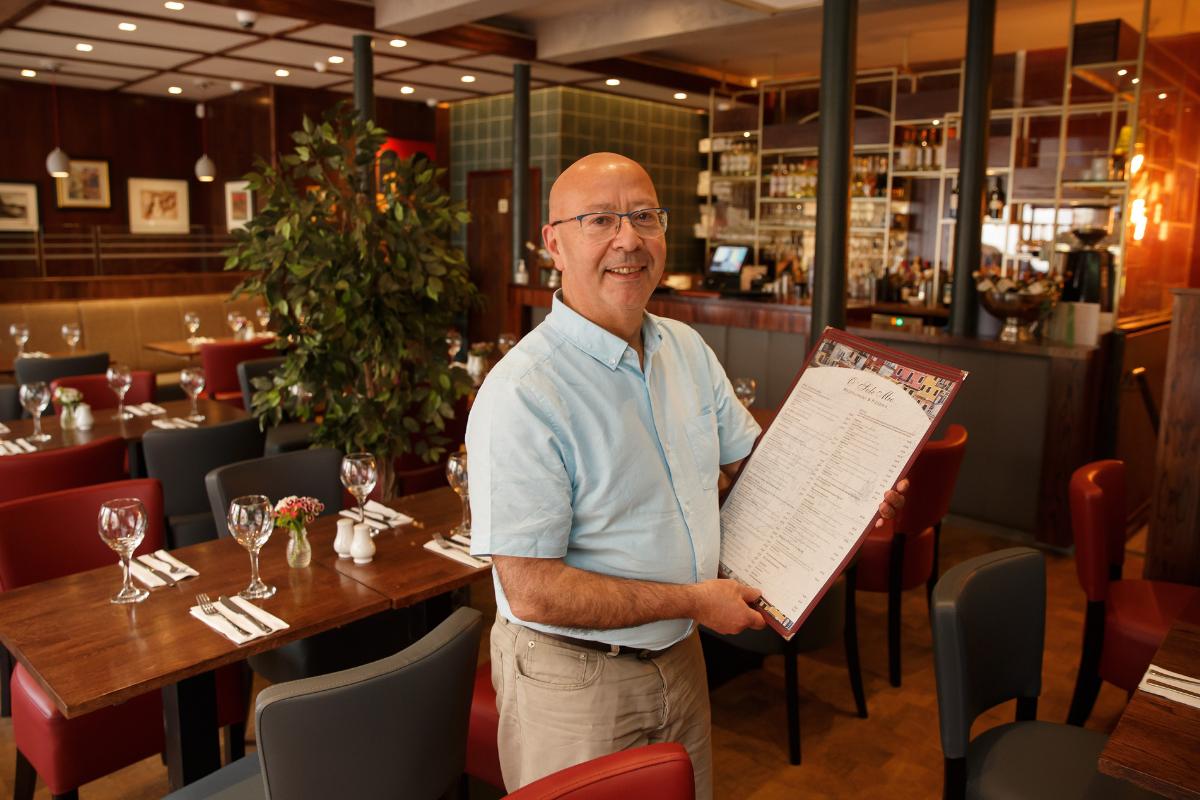 O Sole Mio: Peek inside Glasgow restaurant's new Bath Street home