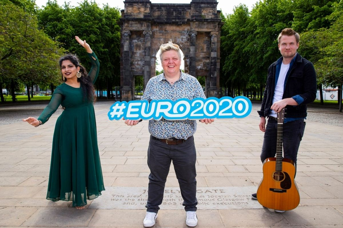 Packed programme of cultural events announced for Glasgow Green Euro 2020 fan zone