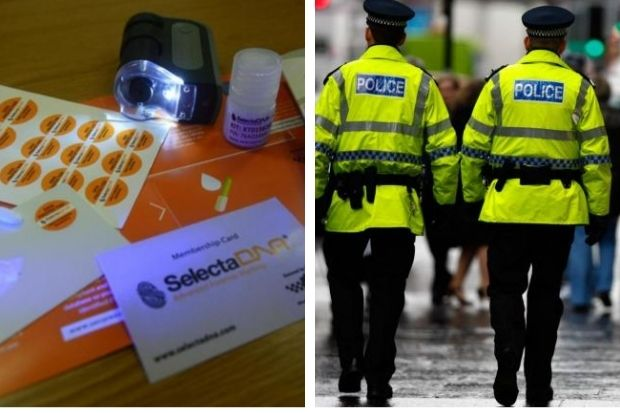 Bearsden residents handed DNA kits by cops to prevent break-ins