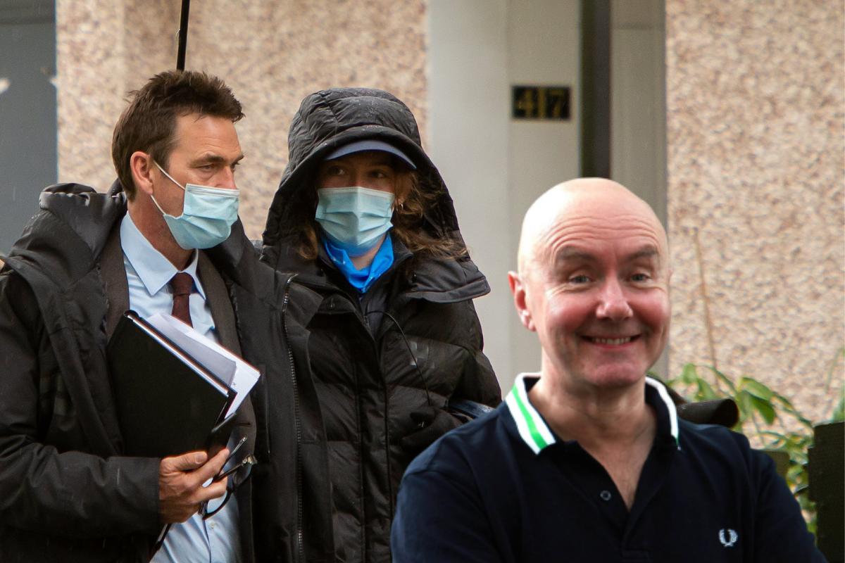 Irvine Welsh teases Crime cast picture after Glasgow filming