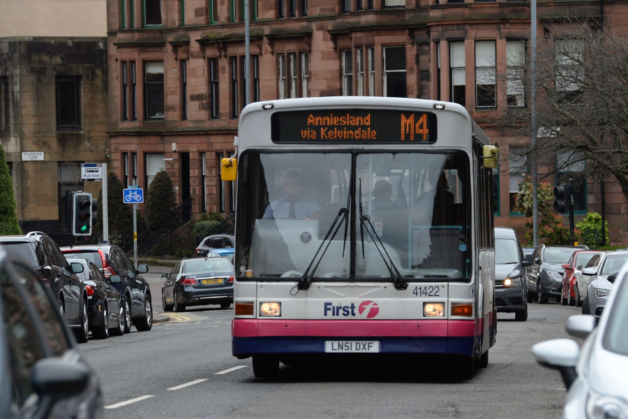 Glasgow buses given share of £35.4m to maintain services