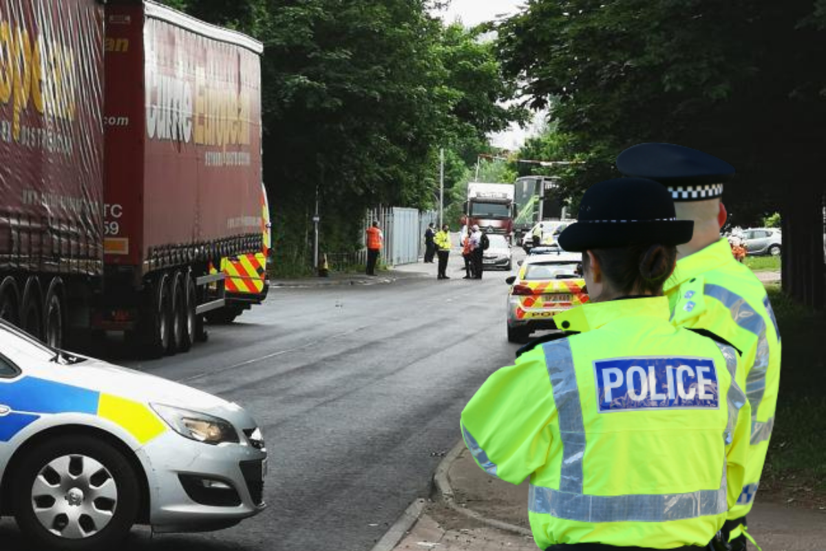 Cambuslang Road Parcelforce 'suspicious package' update from police