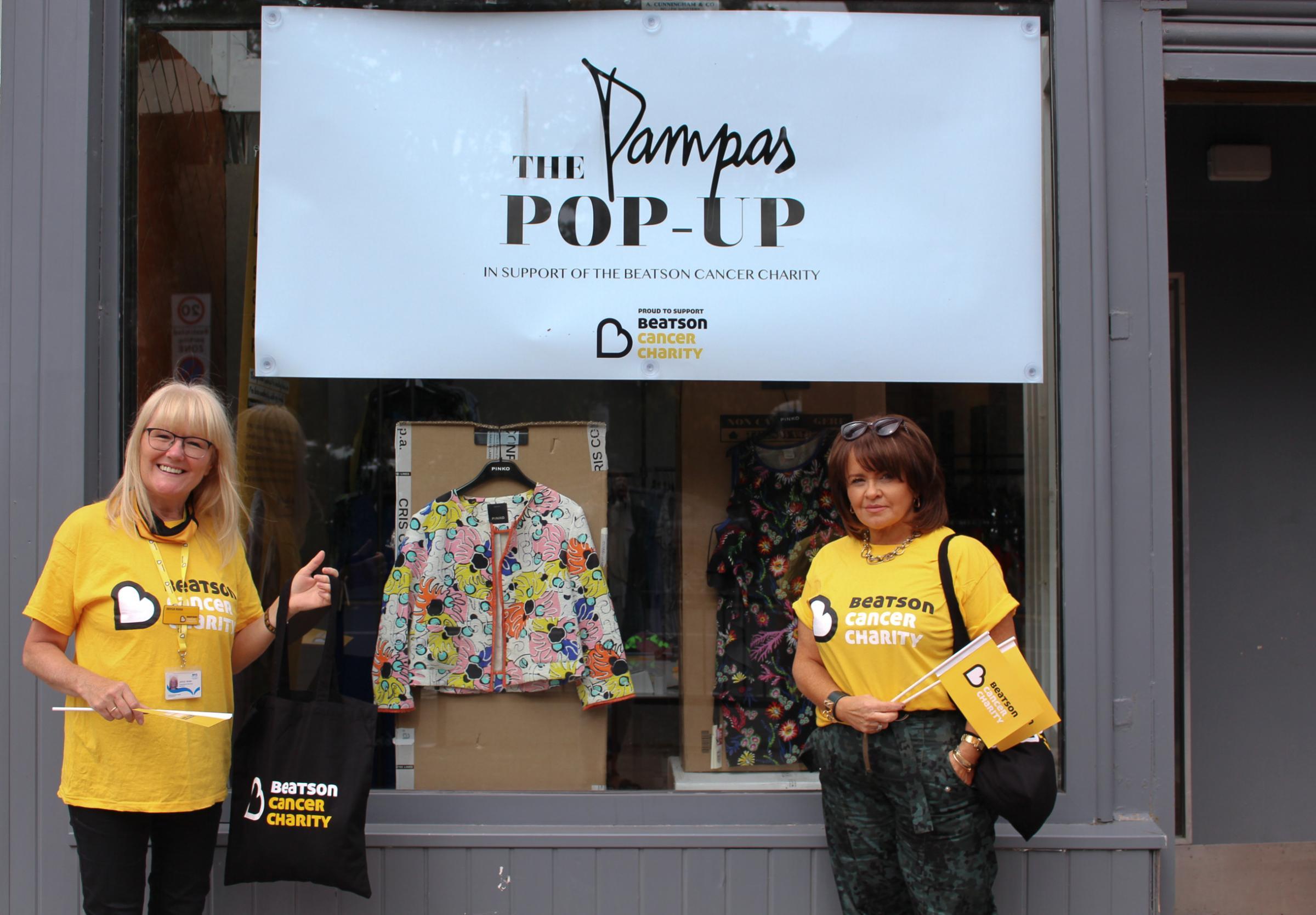 Pampas: West End boutique launches charity pop-up shop