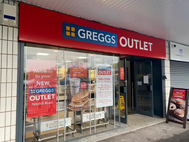 Greggs make moves to open new outlet store in Maryhill