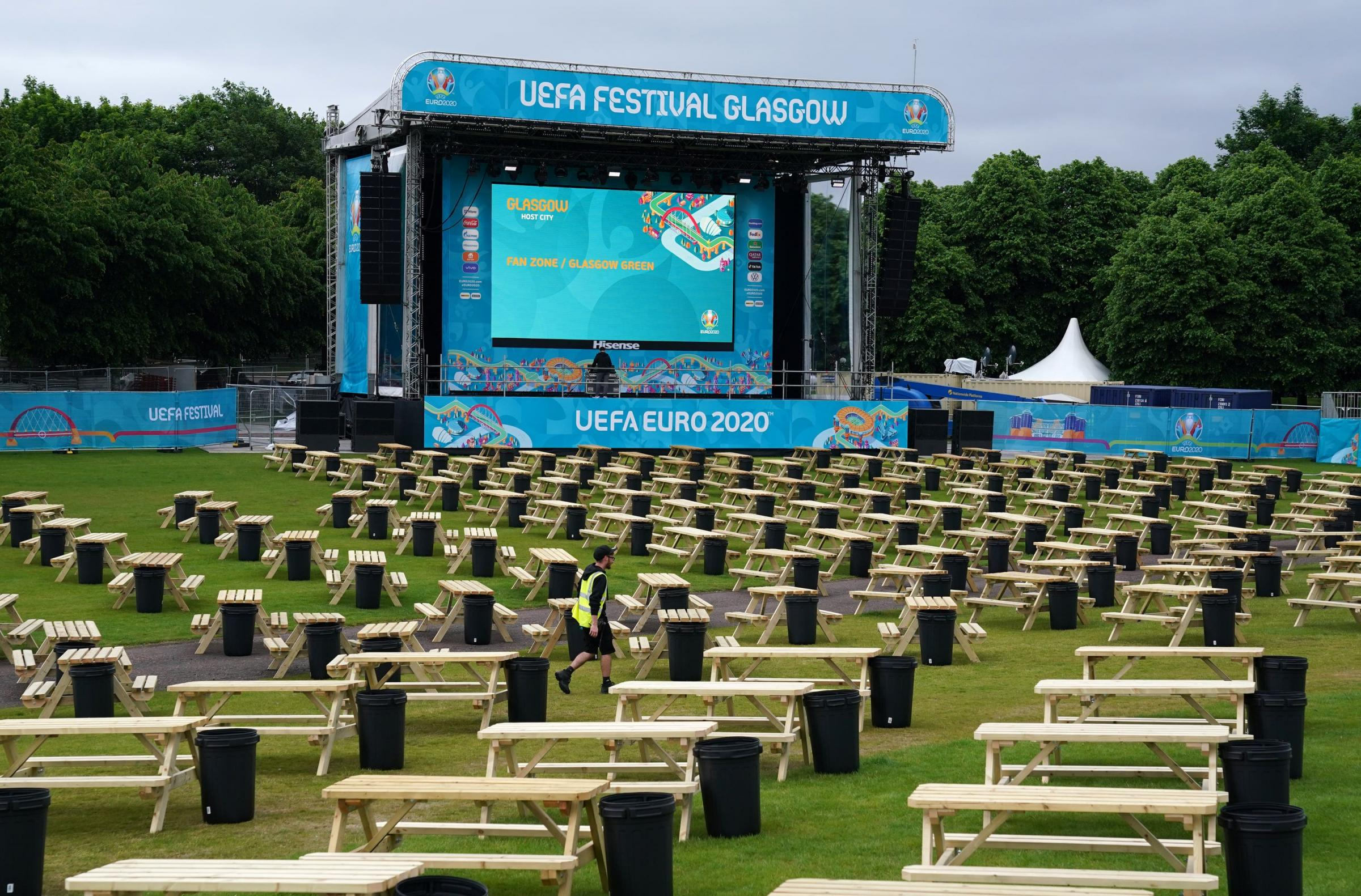 Fiona Hyslop says Glasgow Euro 2020 fan zone test for mass gatherings return