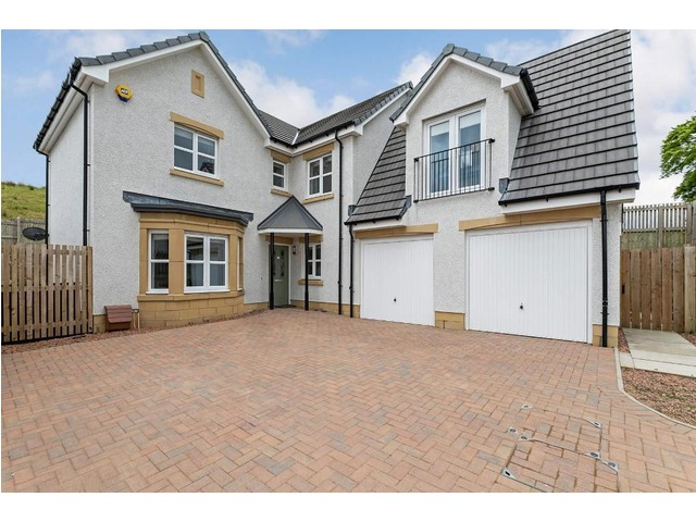 Glasgow property: Inside the Robroyston home with balcony views of the Campsies