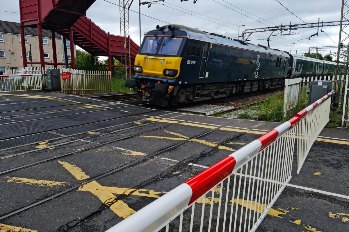 Logans Road: Network Rail fire warning to public after series of incidents on level crossing