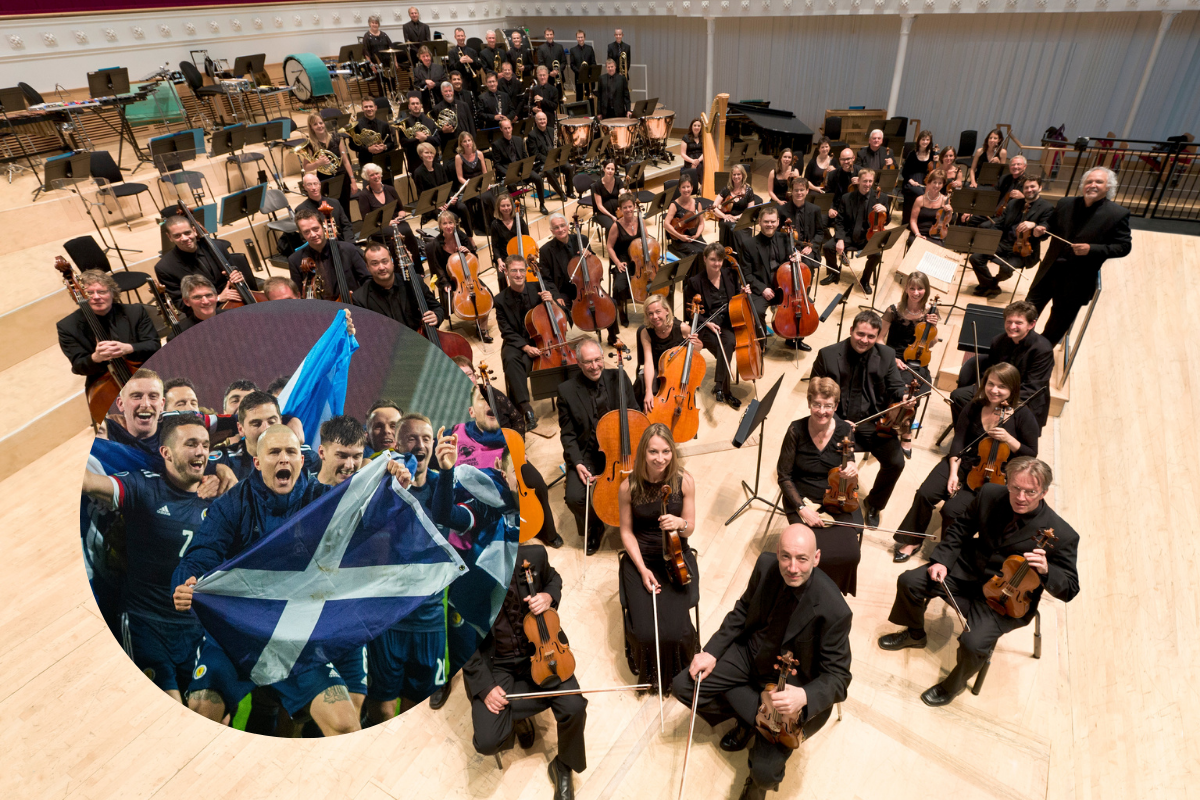 BBC Orchestra release Yes Sir I Can Boogie with help of Scottish stars