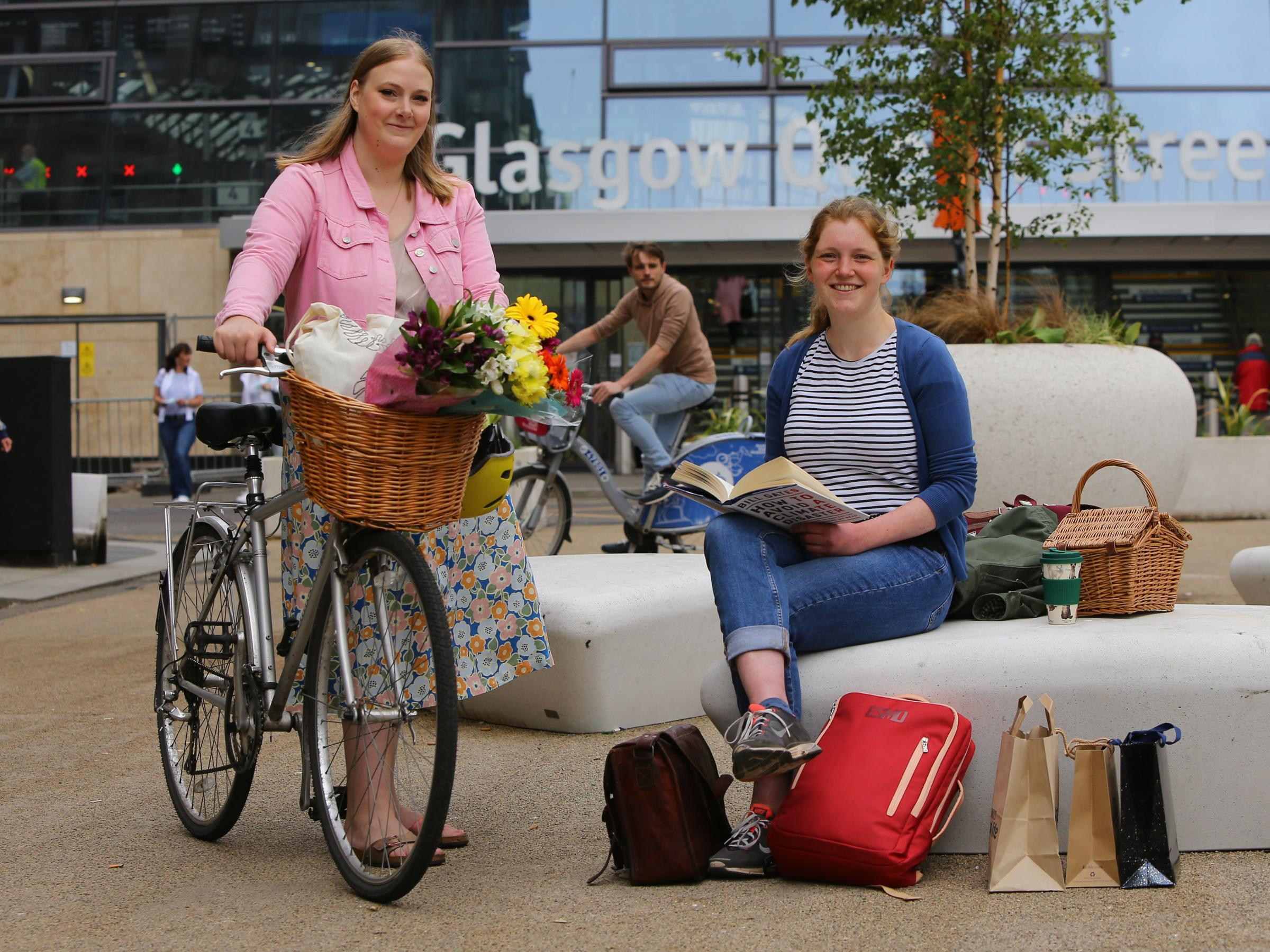 Transform Scotland launches sustainability report recommending 'car-free cuty centre'