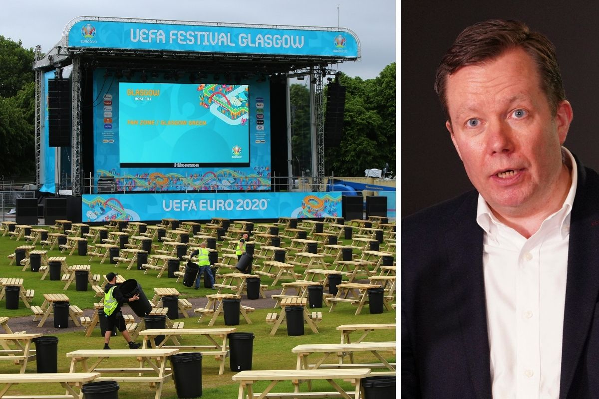 Glasgow Green Euro 2020 fan zone attendees could have testing kits sent to home