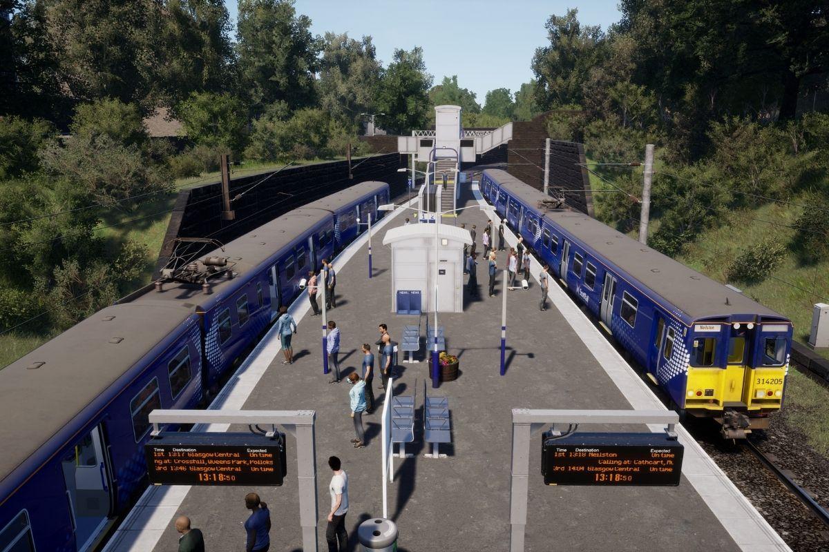 Glasgow's Cathcart Circle line comes to Train Sim World 2