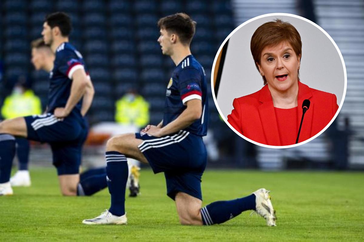 Euro 2020: Nicola Sturgeon speaks out amid Scotland 'taking the knee' row