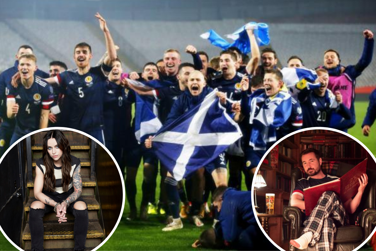 Euro 2020: Celebrity fans get behind Scotland team ahead of first major tournament in 23 years