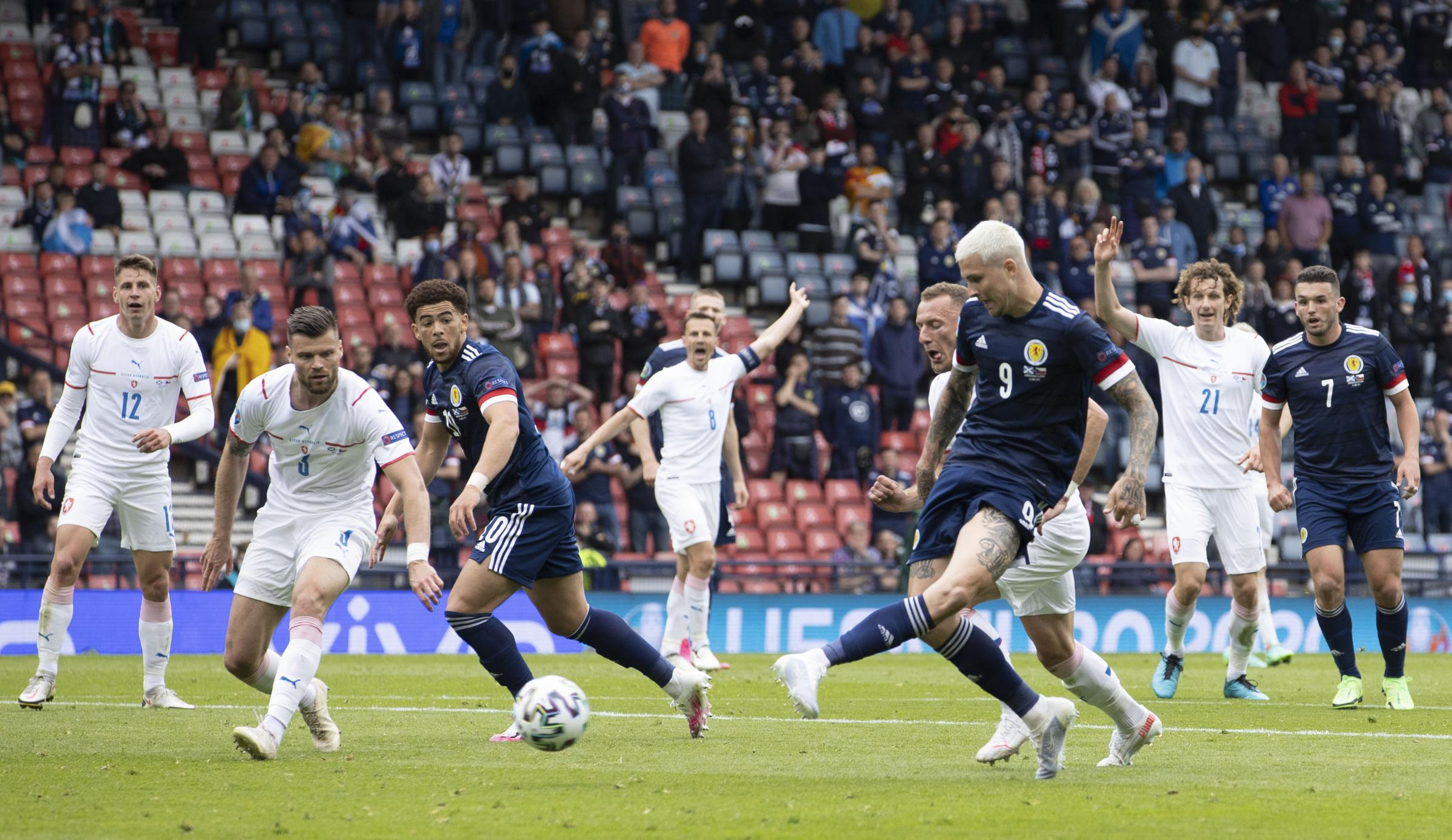 Scotland 0-2 Czech Republic: Patrik Schick double sinks Steve Clarke's men in sickening Euro 2020 opener